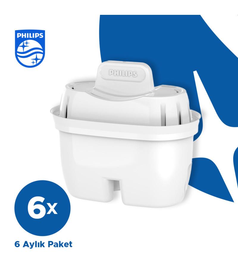 Philips Su Arıtıcı Özellikli Sürahi Filtresi - Diğer Marka Sürahilerle Uyumlu